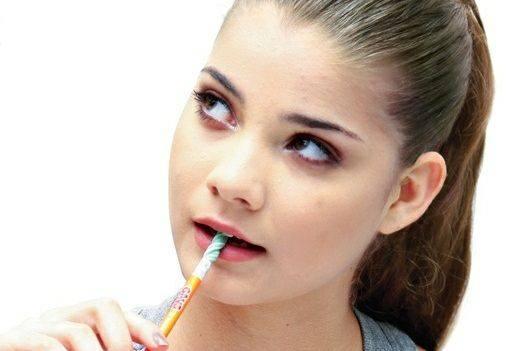 chewing on pencils it s a bad habit dr nechupadam dental clinic